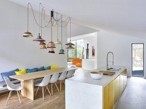 Different methods of arranging lighting fixtures