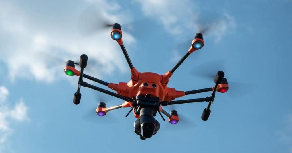 Drones and thermal imaging